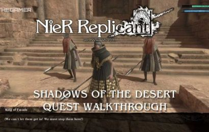 Nier Replicant: Shadows Of The Desert Quest Walkthrough