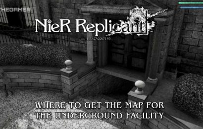Nier Replicant: Where To Get The Map For The Underground Facility