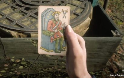 Red Dead Online Tarot Card Swords Locations: All Collector Suit of Sword items