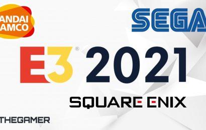 Sega Confirmed To Appear At E3 2021 Alongside Square Enix, Bandai Namco