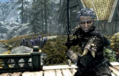 Skyrim's beloved grandma, Shirley, is out as a mod now