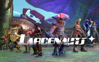 VR Hero Shooter 'Larcenauts' Gameplay Reveal Shows Off Characters & Clean Art Direction