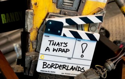 Borderlands Movie Has Finished Filming With First Look At Claptrap In Action