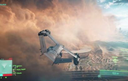 Check Out The First Gameplay For Battlefield 2042