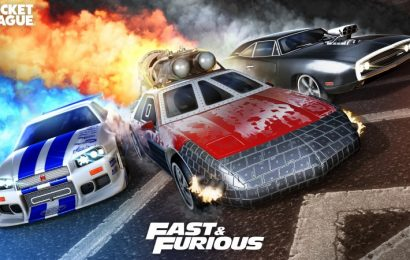 Fast & Furious Roars Into Rocket League Once Again