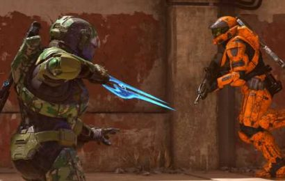 Halo Infinite will add a practice range with AI bots