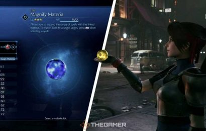Magnify Materia Uses And Effect – FF7R