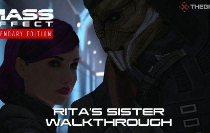 Mass Effect: Rita's Sister Walkthrough