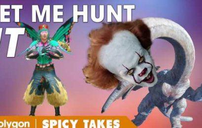 Monster Hunter Rise should let me hunt Pennywise