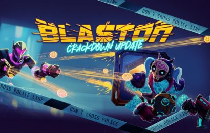 New Blaston Crackdown Update Adds Single Player Campaign
