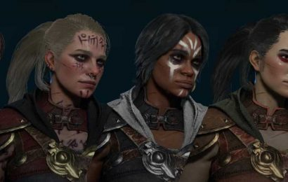 New Diablo 4 Update Reveals In-Game Models And Character Art