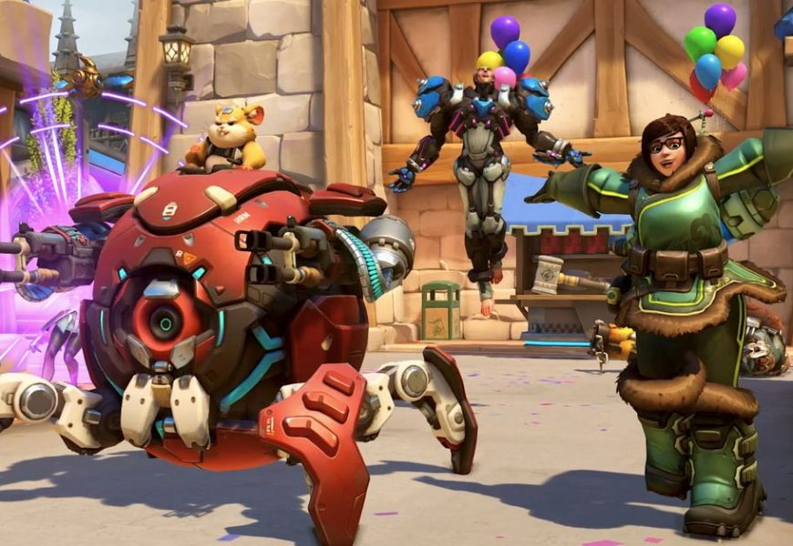 Overwatch is getting cross-play