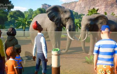 Planet Zoo's Update Brings Vista Points, A New Scenario, And More Deep Swimming