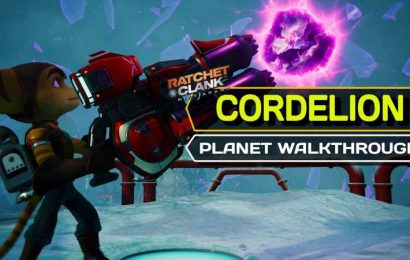 Ratchet & Clank: Rift Apart – Cordelion Complete Walkthrough and Collectible Guide