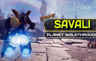 Ratchet & Clank: Rift Apart – Savali Complete Walkthrough and Collectible Guide