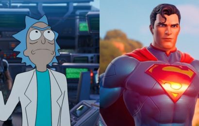 Rick Sanchez and Superman Aren't Enough To Carry Fortnite's New Season