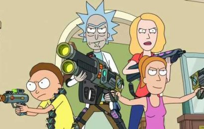 Rick and Morty might be coming to Fortnite