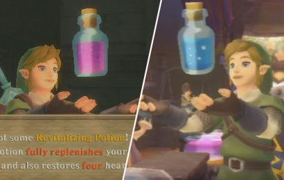 Skyward Sword: How To Make Every Potion And What It Does