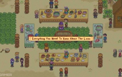 Stardew Valley: Everything You Need To Know About The Luau