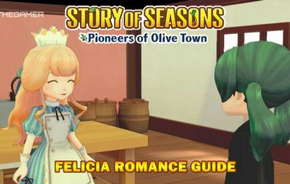 Story Of Seasons: Pioneers Of Olive Town – Felicia Romance Guide