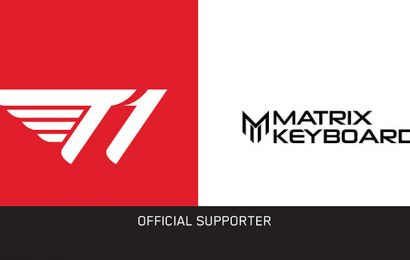 T1 Secures Matrix Keyboards as Official Keyboard Partner – The Esports Observer
