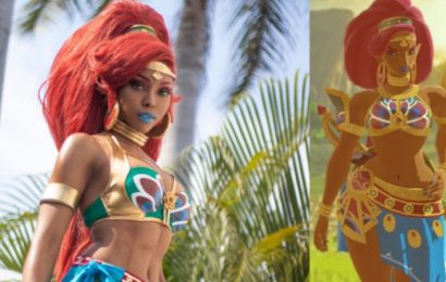 This Zelda: Breath Of The Wild Cosplayer Shares Stunning Urbosa Cosplay