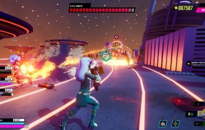 Arcadegeddon Is A Flashy Hip Hop Concert Of Cooperative And Competitive Multiplayer