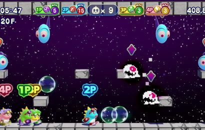 Bubble Bobble 4 Friends is an updated arcade classic which provides easy fun