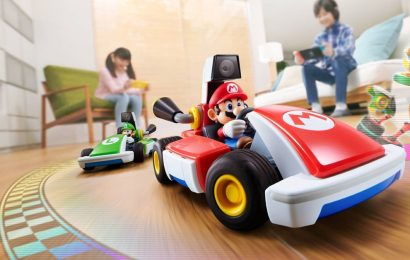 Mario Kart Live update brings new courses and items