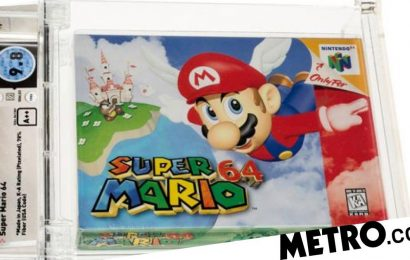 Most expensive video game ever is now Super Mario 64 for £1.1 million