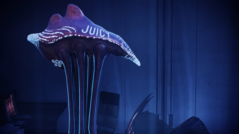 """New Mass Effect Legendary Edition Mod Gives The People Want They Want, """"Juicy"""" Sexy Hanar"""