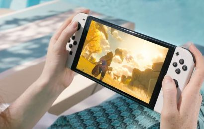 New Nintendo Switch with a bigger, better OLED screen coming in October