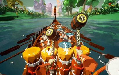Ragnarock VR Drumming Comes To Steam & Quest This Summer