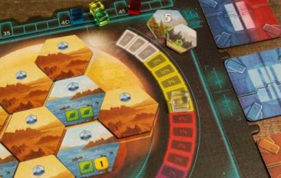 Terraforming Mars: Ares Expedition is faster than the original, but no less fiddly
