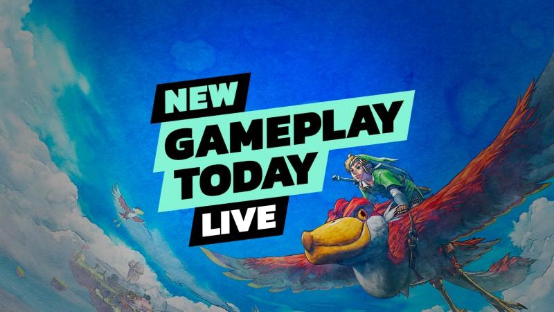 The Legend Of Zelda: Skyward Sword HD – New Gameplay Today Live