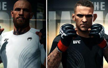 UFC 264 Conor McGregor vs Dustin Poirier: Notorious knocks out Poirier in pre-fight sim