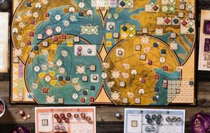 8 historical board games, from diverse designers, that show great promise