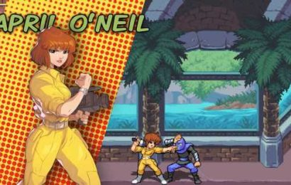 April O'Neil will kick ass in the new Ninja Turtles beat-'em-up