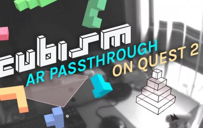 Cubism In AR On Oculus Quest Might Be The Best Way To Play