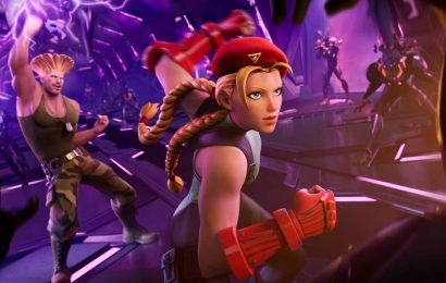 Fortnite getting another round of Street Fighter characters with Cammy and Guile
