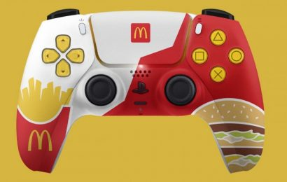 McDonald's PlayStation 5 Controller Is A Masterwork That Will Likely Never Happen
