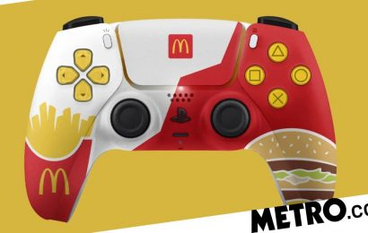 McDonald's made its own PS5 controllers without Sony's permission