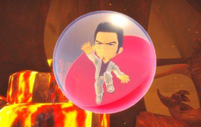Yakuza's Kiryu rolls into Super Monkey Ball Banana Mania