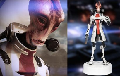 BioWare Adds New Mordin Statue To Its Store To Celebrate Mass Effect Legendary Edition