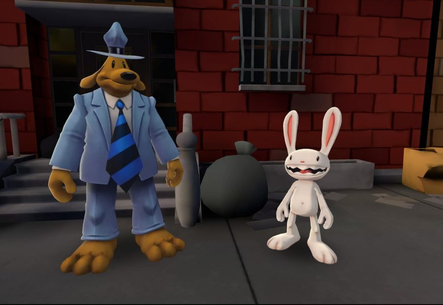 Sam & Max VR Hits PC Headsets Today