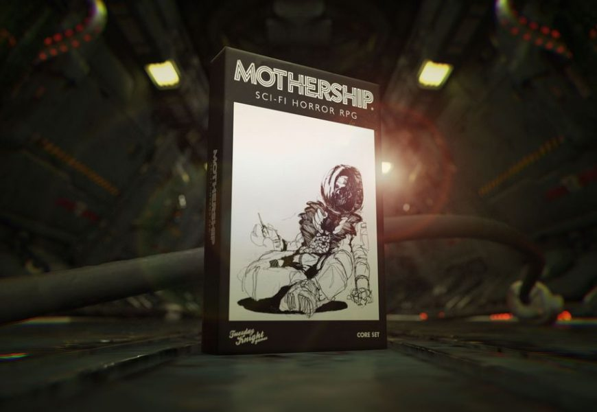 Award-winning indie horror RPG Mothership is getting a boxed set