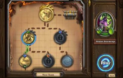 Hearthstone Mercenaries is a quick and clever take on a card game RPG