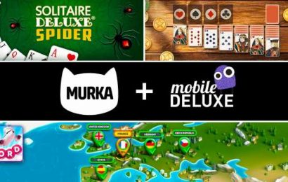 Murka Games expands in casual mobile games with acquisition of Mobile Deluxe