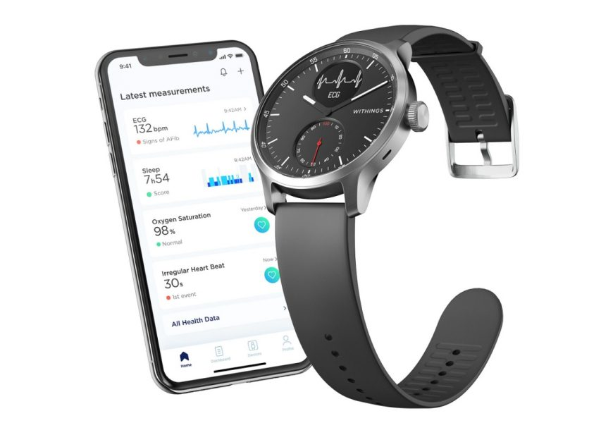 Withings gets FDA nod for medical smartwatch ScanWatch